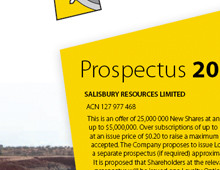 Salisbury Resources Limited