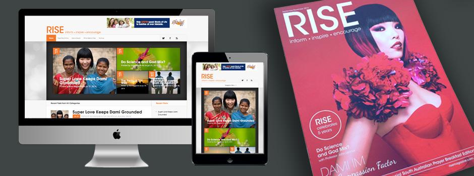 Rise Magazine - Dami Im