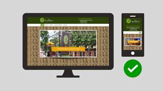 bali responsive website